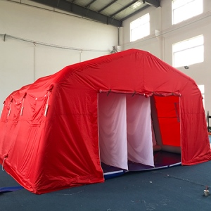 怎样正确地使用洗消帐篷?